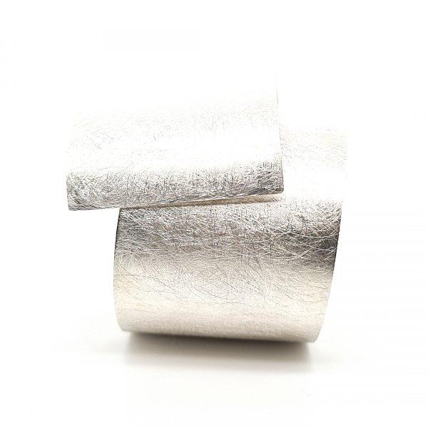 MOYA zilveren Plaatarmband 40mm