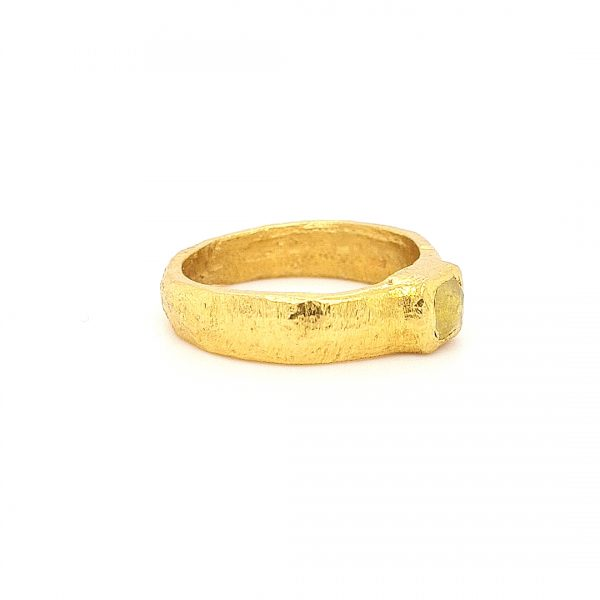 MOYA Raw Elegance ring 22k