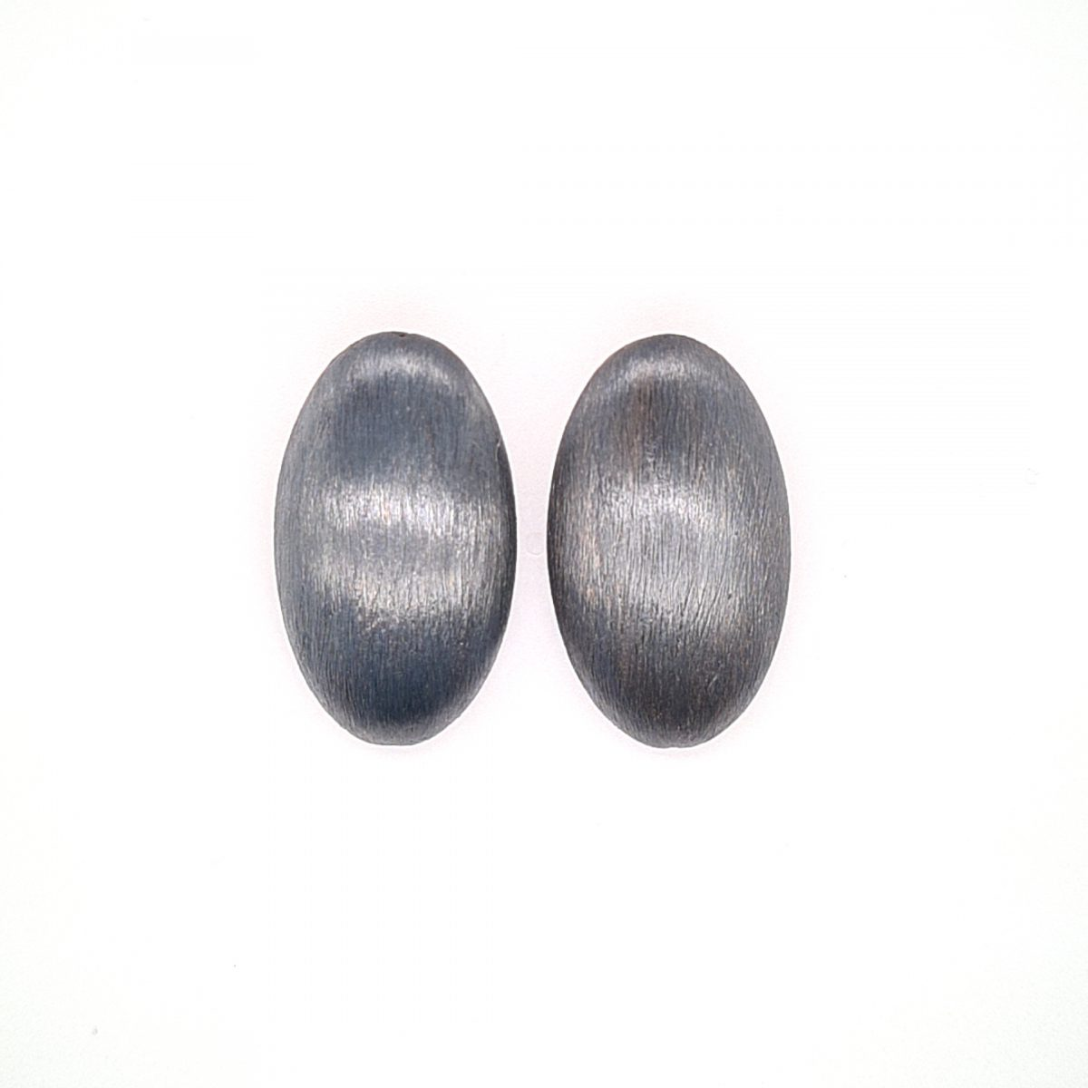 MOYABlackPebbels oorbellen Medium1023