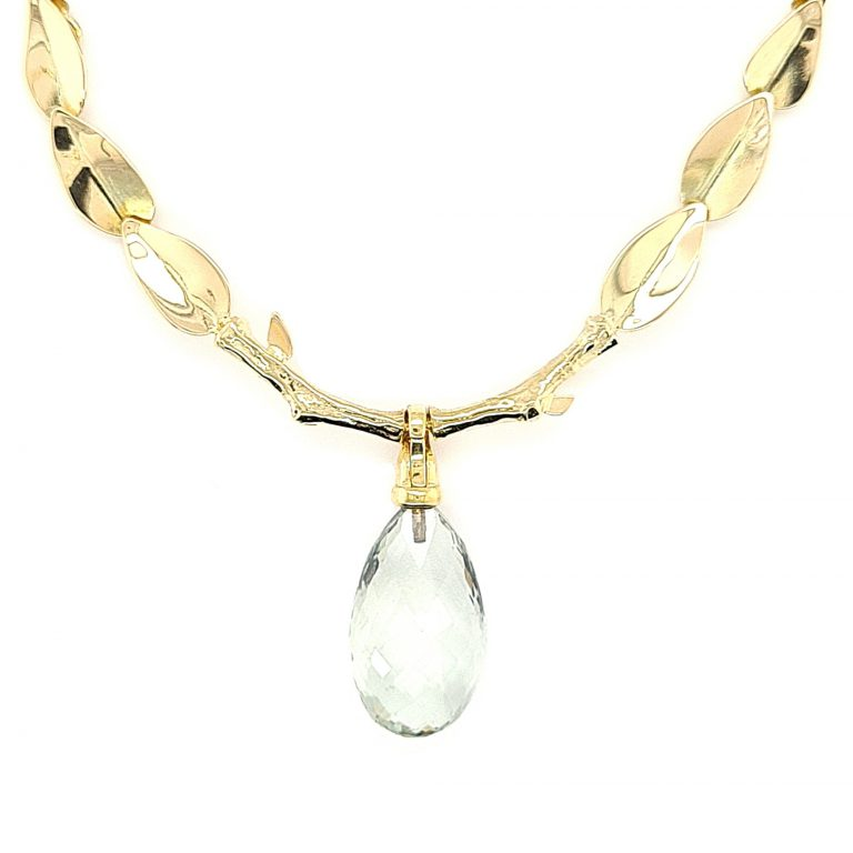 MOYA Leaves necklace